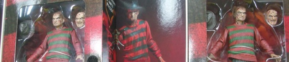 NECA Ultimate Freddy Krueger Packaged