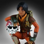 Star Wars Rebels Ezra with Chopper Maquette 1