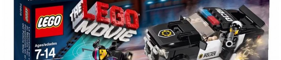 The LEGO MOVIE 2015 70819 Bad Cop Car Chase