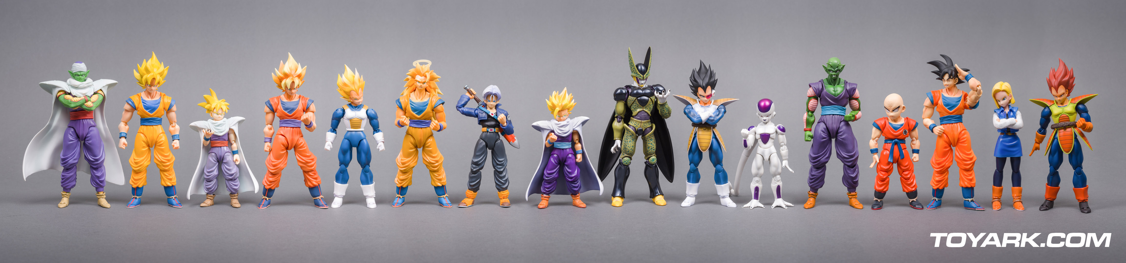 S.H. Figuarts Dragonball Z Line Up (Sept 2014)