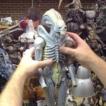 Big Chap Alien Quarter Scale