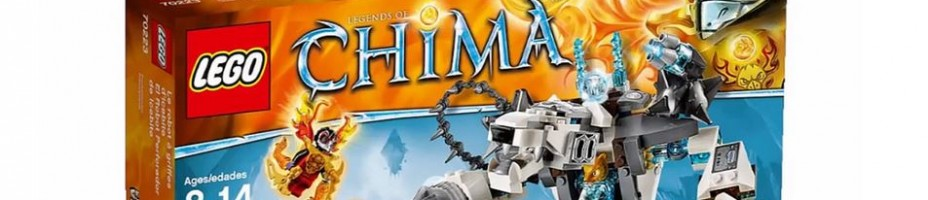 LEGO Legends of Chima Icebites Claw Driller 70223