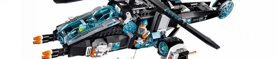 LEGO Ultra Agents UltraCopter vs Antimatter 70170 2