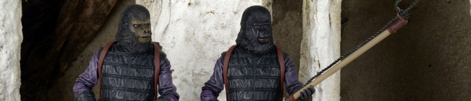 Planet of the Apes Gorilla Soldier 2 Pack 002