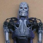 T 800 Endoskeleton with Heavy Machine Gun