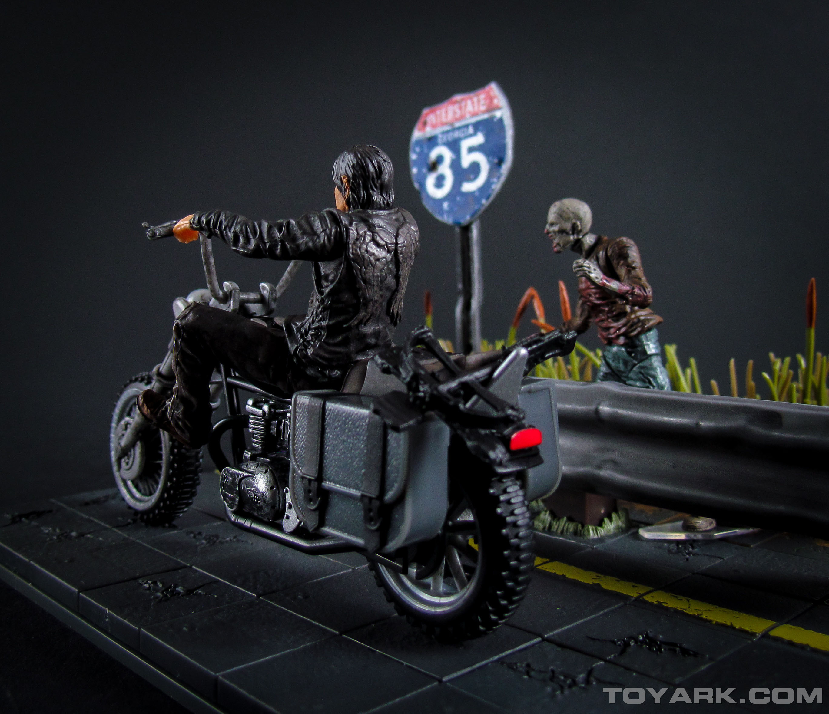 Walking Dead Daryl Dixon with Motorcycle Building Set 045