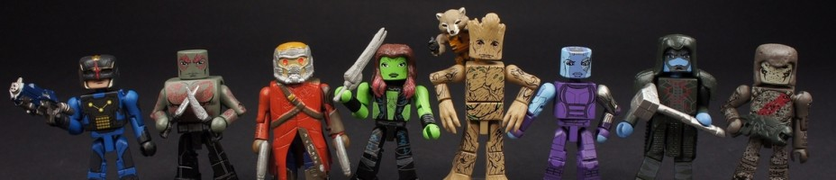 001 Guardians of the Galaxy Marvel MiniMates
