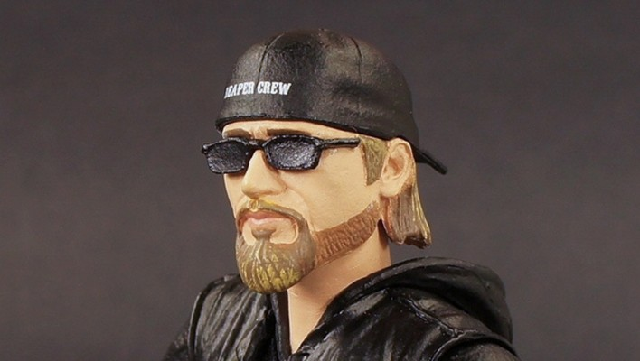 Sons of Anarchy Jax Mezco Entertainment Earth Exclusive Photo Shoot