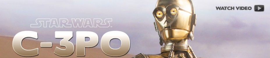 C 3PO Star Wars Sixth Scale Figure Preview