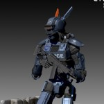 Chappie Scout 22 Statue