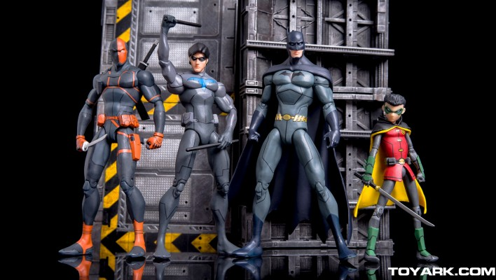 First Look - DC Collectibles Son of Batman Figures