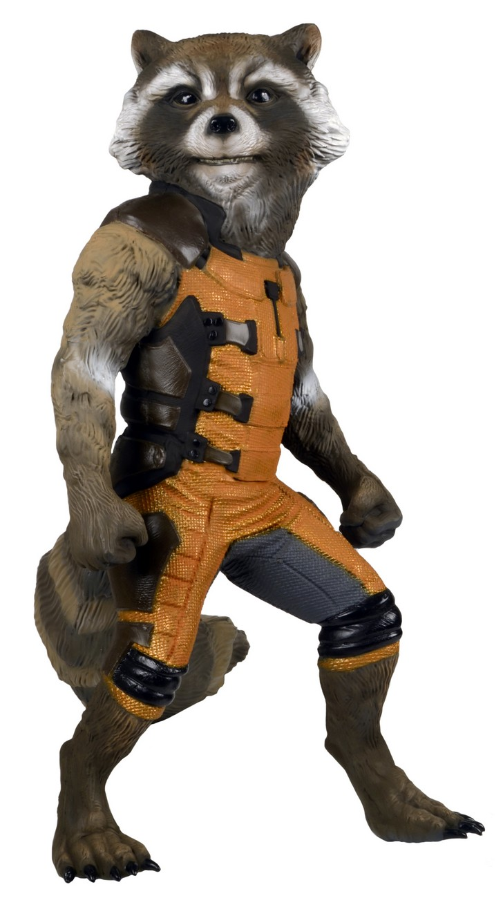 NECA Reveals Full Size Rocket Raccoon Foam Figure - The ...