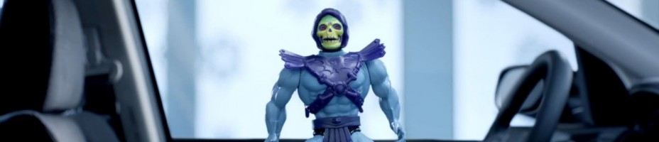 Honda Skeletor Commercial