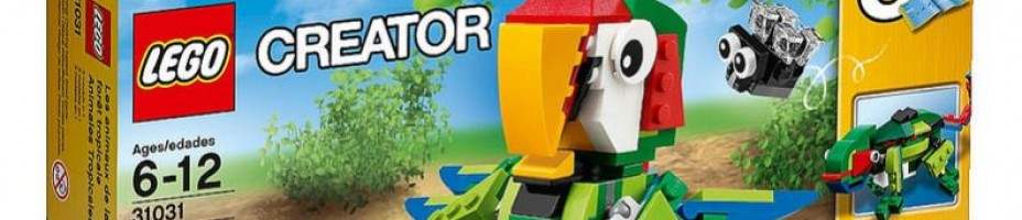 LEGO Creator 2015 Rain Forest Animals