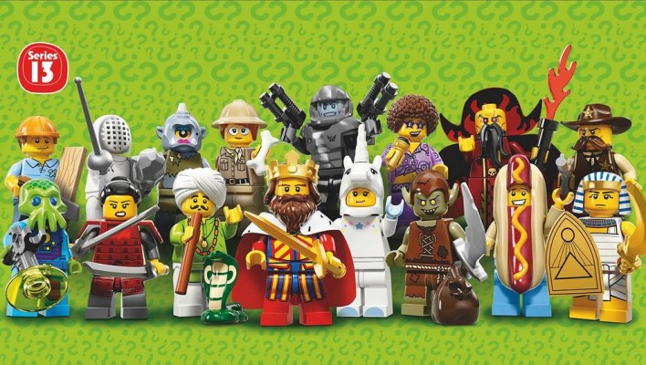 LEGO Official Series 13 Minifigures 71008 Images and Information