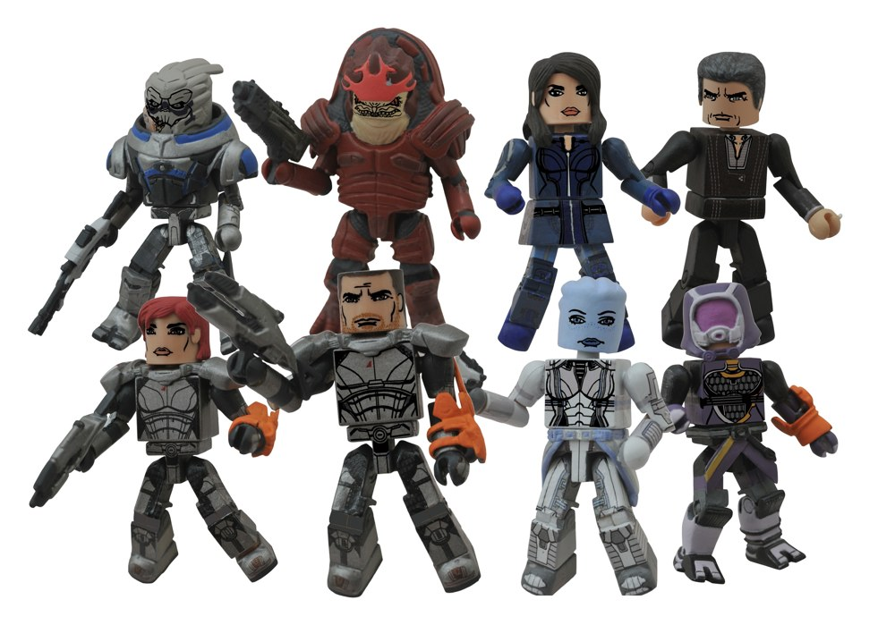 Mass Effect Figures Gamestop Gamestop Exclusive Mass Effect
