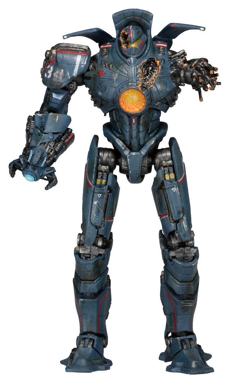 NECA Reveals Pacific Rim 7-Inch Scale Series 5 Jaegers Pacific Rim Gipsy Danger