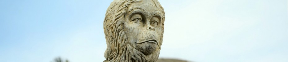 Planet of the Apes Lawgiver Statue 005