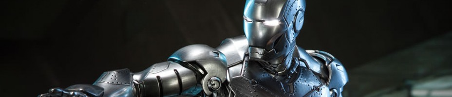 Sideshow Iron Man Mark II Maquette 011