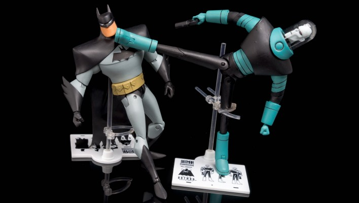 DC Collectibles Batman Animated TNBA Mr. Freeze Photo Shoot
