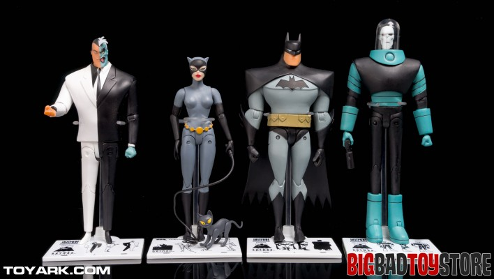 DC Collectibles Batman Animated TNBA Two Face Photo Shoot