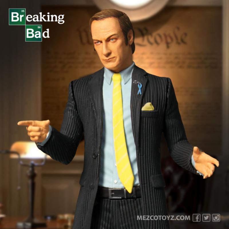 Breaking Bad Saul Goodman 6in Action Figure Mezco