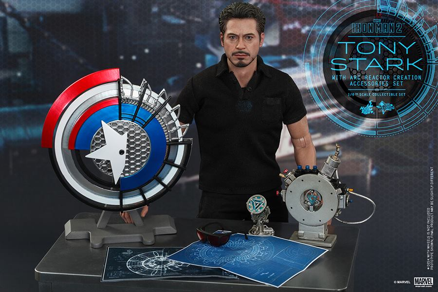 Iron man 2 tony stark with arc reactor creation accessories by hot iron man 2 tony stark with arc reactor creation accessories by hot toys additional images malvernweather Choice Image