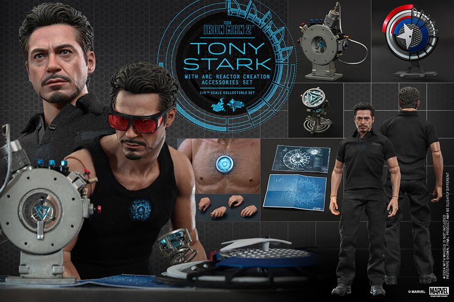 Hot toys im2 arc creation tony stark toy discussion at toyark malvernweather Choice Image