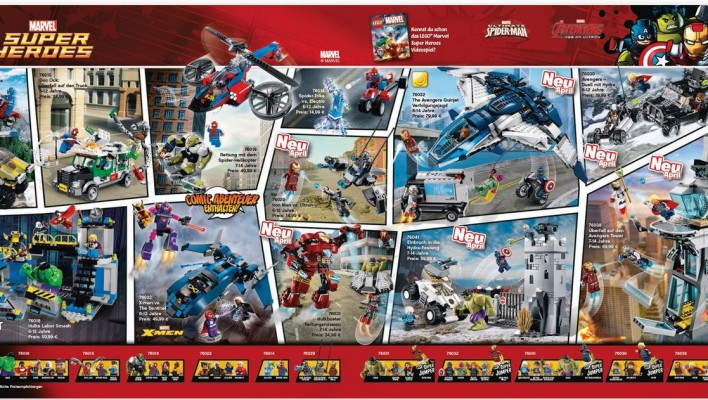 LEGO Marvel Super Heroes Avengers Age of Ultron Images
