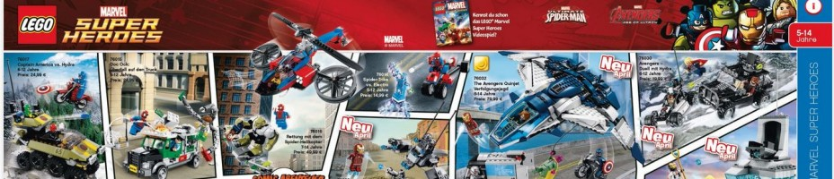 LEGO Avengers Age Of Ultron 2015 Full Line Up