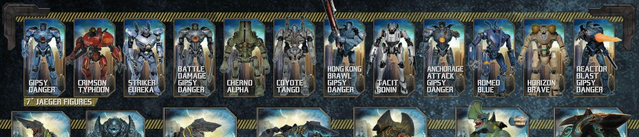 NECA Pacific Rim Visual Guide Christmas Reveal