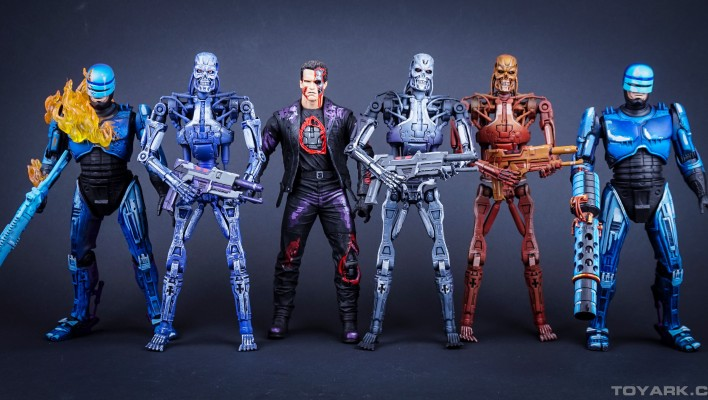 NECA Robocop vs Terminator Toyark Photo Shoot