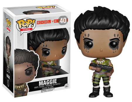 Evolve Pop Vinyl Figures Maggie