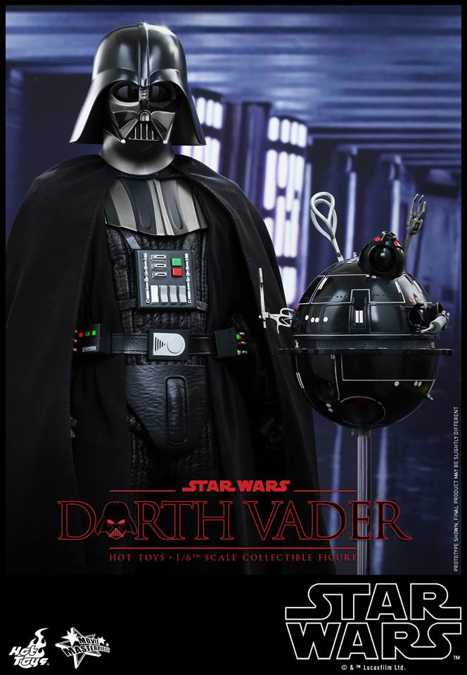Hot Toys Darth Vader Update Interrogator Droid The