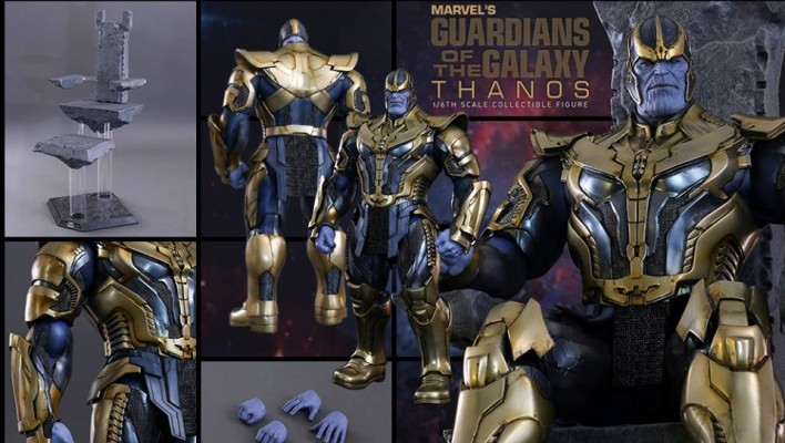 Hot Toys Guardians of the Galaxy Thanos Photos and Info