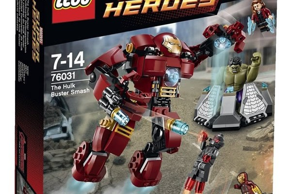 LEGO Marvel Super Heroes Avengers Age Of Ultron Hulkbuster Smash 76031