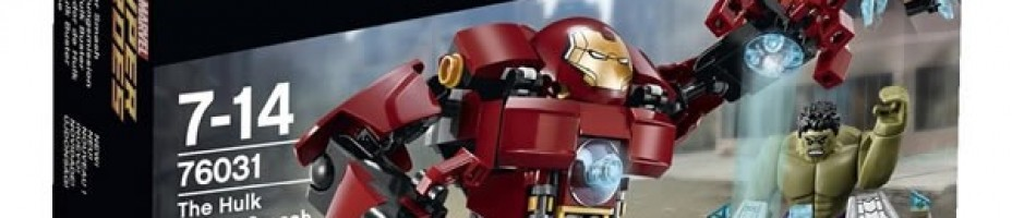 LEGO Marvel Hulk Buster Super Heroes Avengers Age of Ultron76031