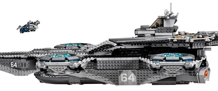 LEGO Marvel Super Heroes UCS Shield Helicarrier Official Images