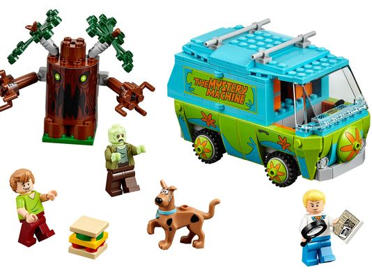 Lego Scooby Doo Mystery Machine 2015 toy fair nyc