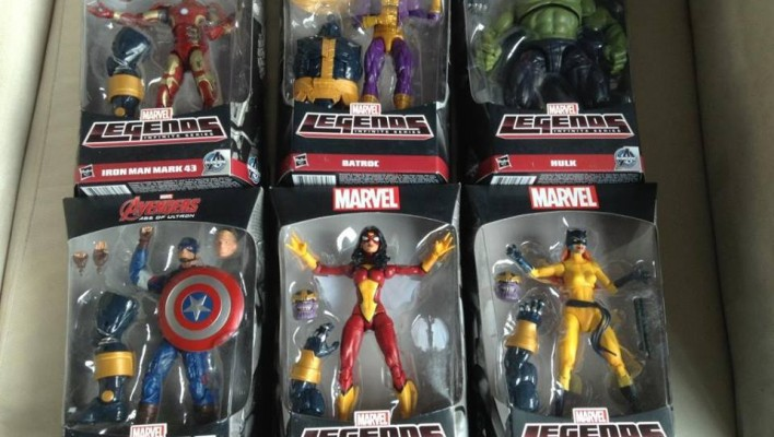 Marvel Legends Infinite Age of Ultron Thanos BAF Series
