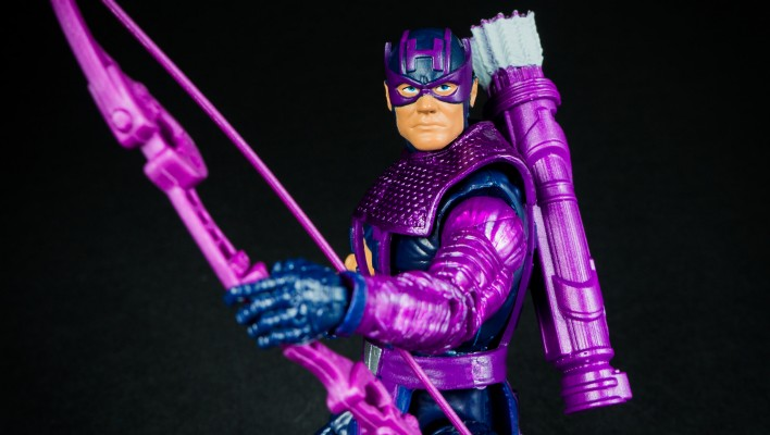 Marvel Legends Hawkeye Allfather Wave Photo Shoot