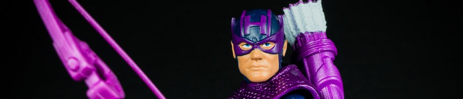 012 Marvel Legends Hawkeye Avengers Allfather