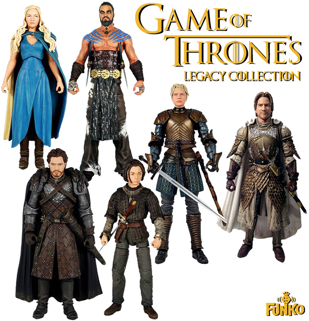 Game Of Thrones Toys : Njcc door prize update complete funko legacy collection