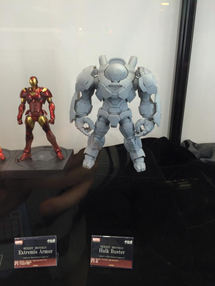 [Evento] Wonder Festival 2015 (Winter) - Sentinel  & Union Creative International HLJ-WF2015-Sentinel-Hulkbuster-2