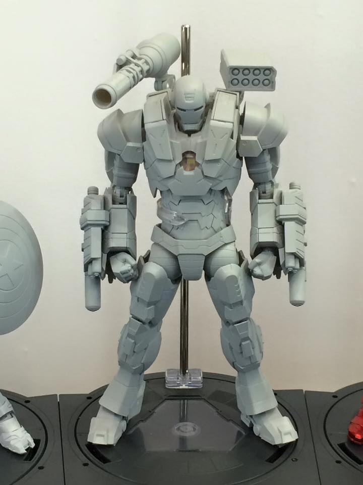 [Evento] Wonder Festival 2015 (Winter) - Sentinel  & Union Creative International HLJ-WF2015-Sentinel-War-Machine