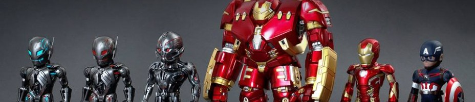 Hot Toys Avengers Age of Ultron Artist Mix Figures by Touma001
