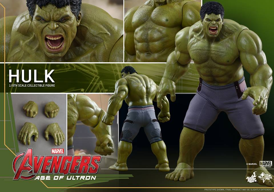 Avengers: Age of Ultron - Hulk Figure by Hot Toys - The ...