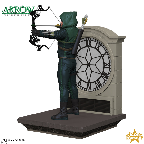 Icon heroes arrow tv series character bookend the toyark news