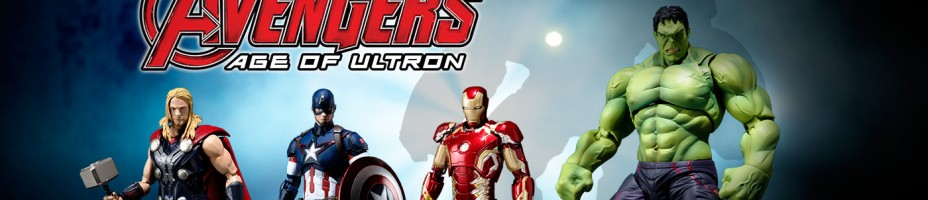 SH Figuarts Avengers Age of Ultron Figures