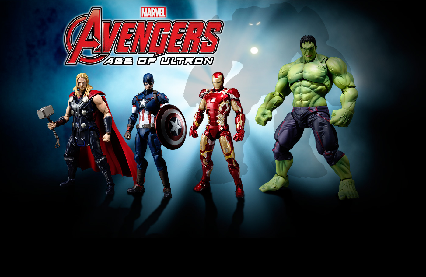 New Photos for SH Figuarts Avengers Age of Ultron Figures ...